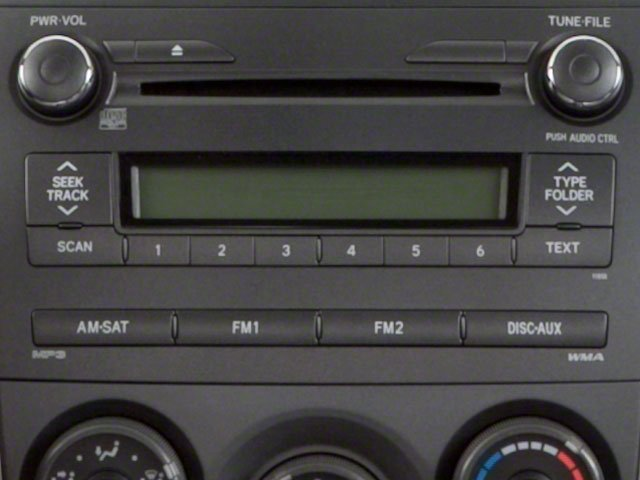 2011 Toyota Corolla Prices and Values Sedan 4D LE stereo system