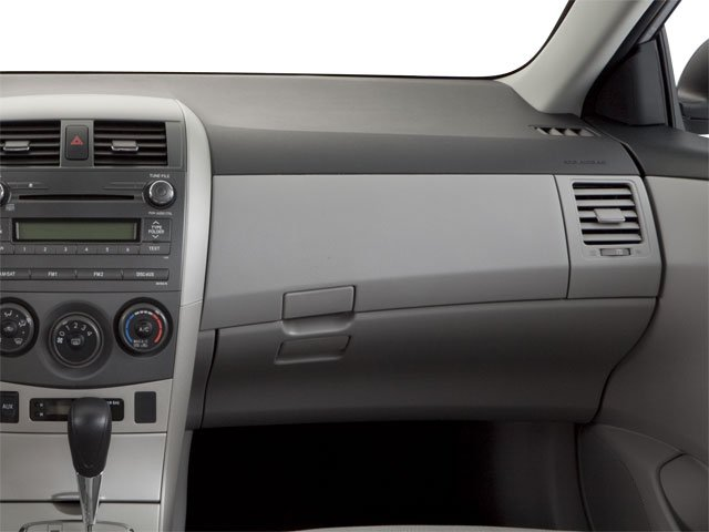 2011 Toyota Corolla Prices and Values Sedan 4D LE passenger's dashboard