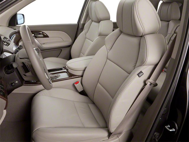 2012 Acura MDX Prices and Values Utility 4D Technology AWD front seat interior
