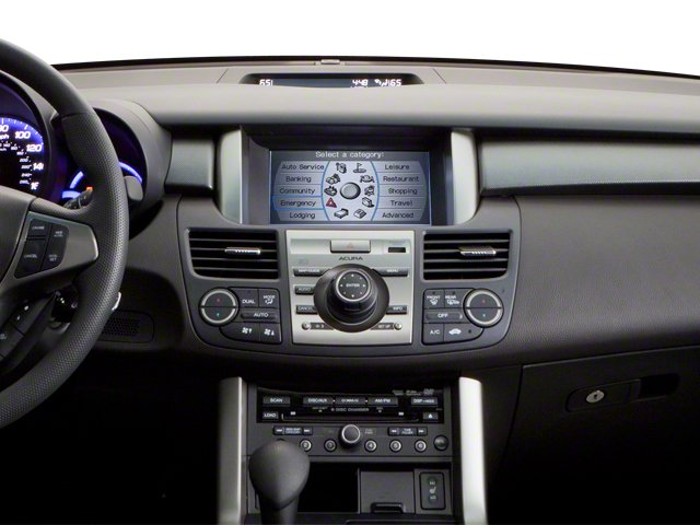 2012 Acura RDX Prices and Values Utility 4D Technology 2WD center dashboard