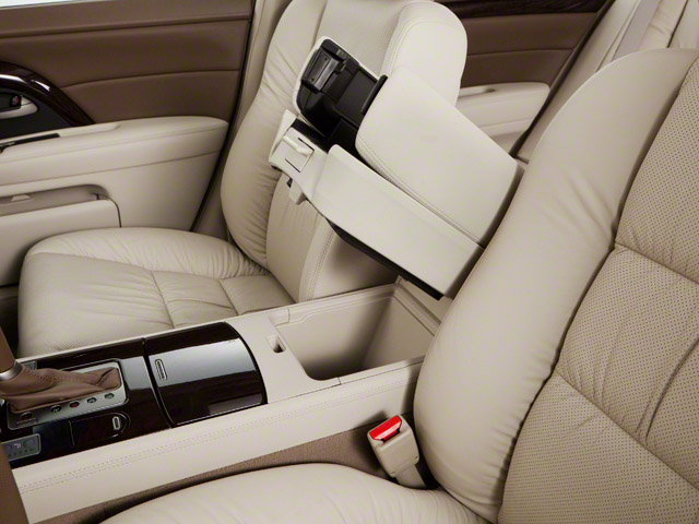 2012 Acura RL Pictures RL Sedan 4D Technology photos center storage console
