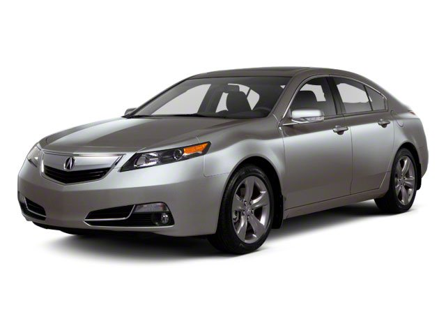 2012 Acura TL Prices and Values Sedan 4D AWD side front view