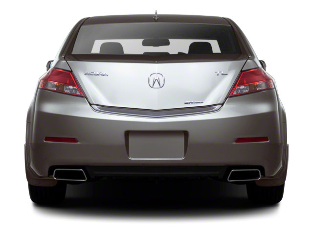2012 Acura TL Prices and Values Sedan 4D AWD rear view