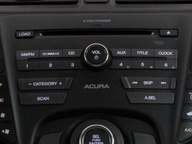 2012 Acura TL Prices and Values Sedan 4D AWD stereo system
