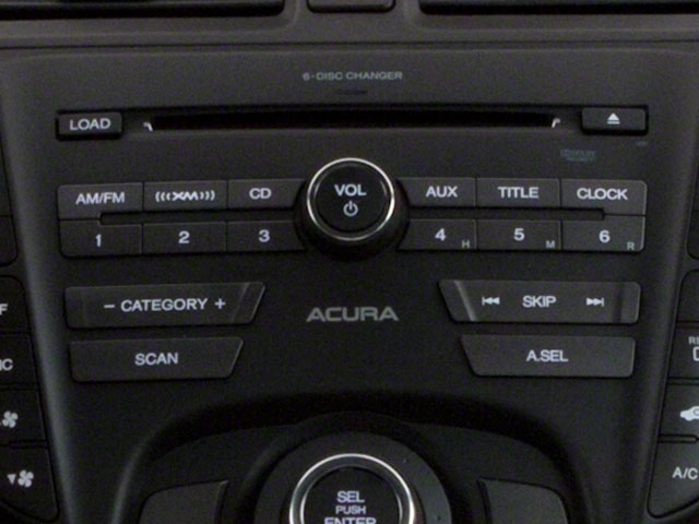 2012 Acura TL Prices and Values Sedan 4D Advance AWD stereo system