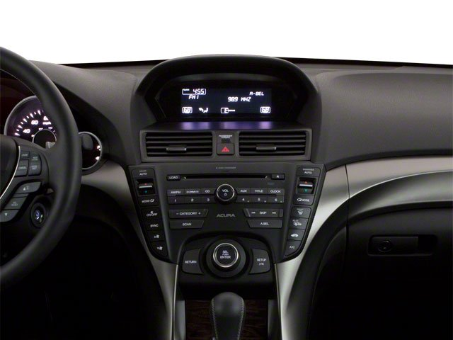 2012 Acura TL Prices and Values Sedan 4D Advance AWD center dashboard