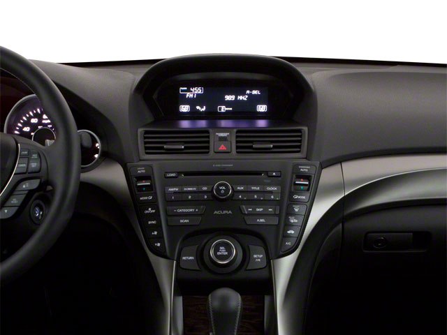 2012 Acura TL Prices and Values Sedan 4D AWD center dashboard