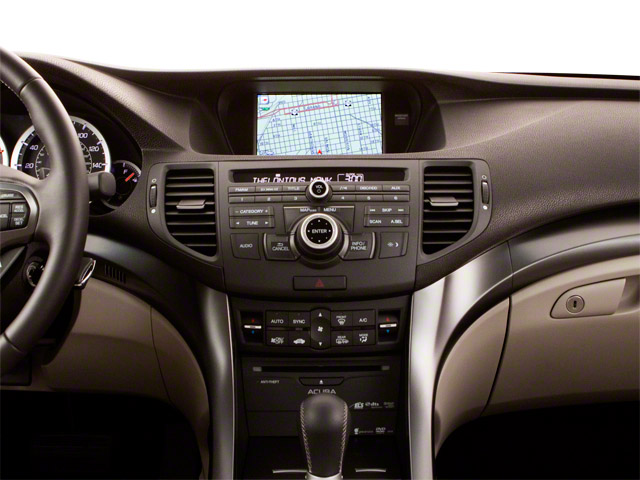2012 Acura TSX Prices and Values Sedan 4D Technology center dashboard