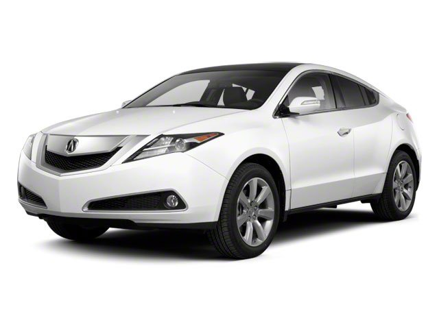 2012 Acura ZDX Prices and Values Utility 4D Advance AWD side front view