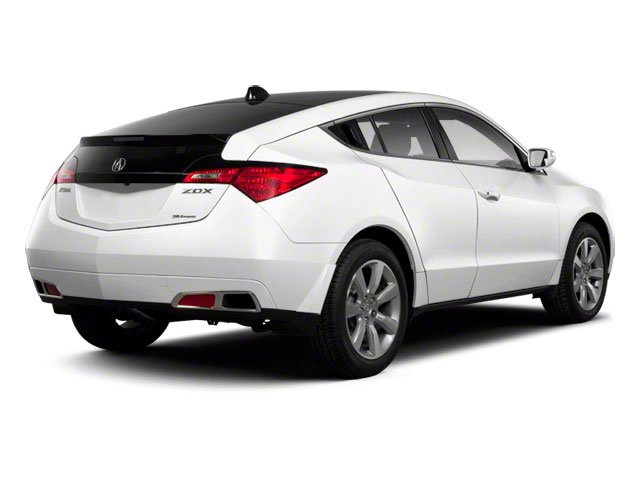 2012 Acura ZDX Prices and Values Utility 4D Advance AWD side rear view