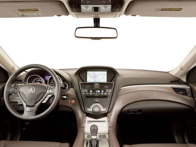 2012 Acura ZDX Prices and Values Utility 4D Advance AWD full dashboard