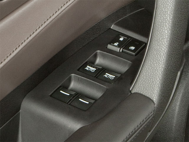 2012 Acura ZDX Prices and Values Utility 4D Advance AWD driver's side interior controls