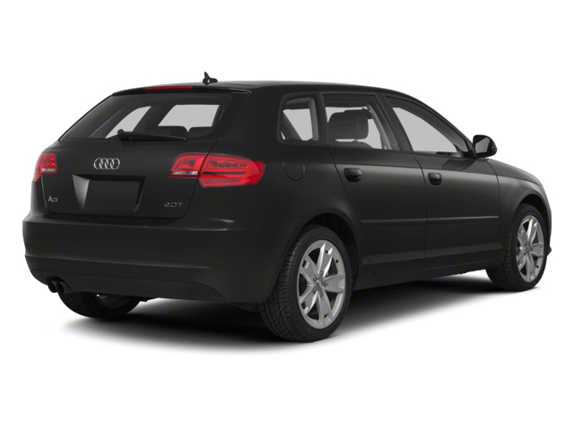2012 Audi A3 Pictures A3 Hatchback 4D 2.0T Quattro photos side rear view