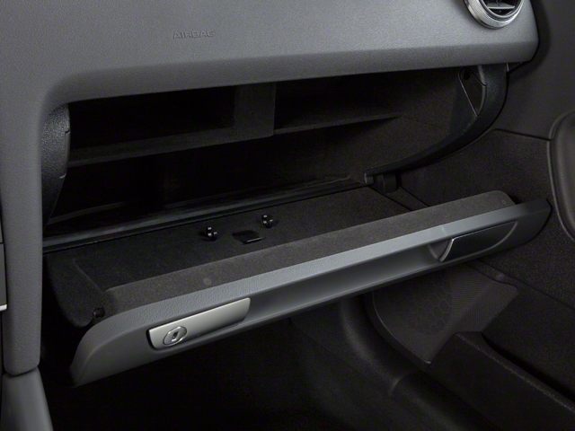 2012 Audi A3 Pictures A3 Hatchback 4D TDI photos glove box