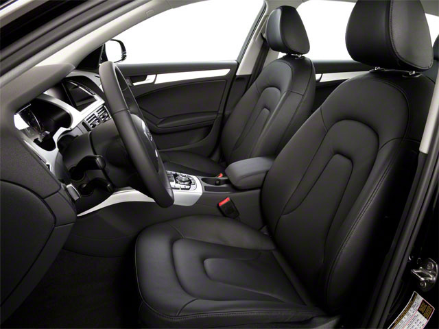 2012 Audi A4 Prices and Values Wagon 4D 2.0T Quattro front seat interior