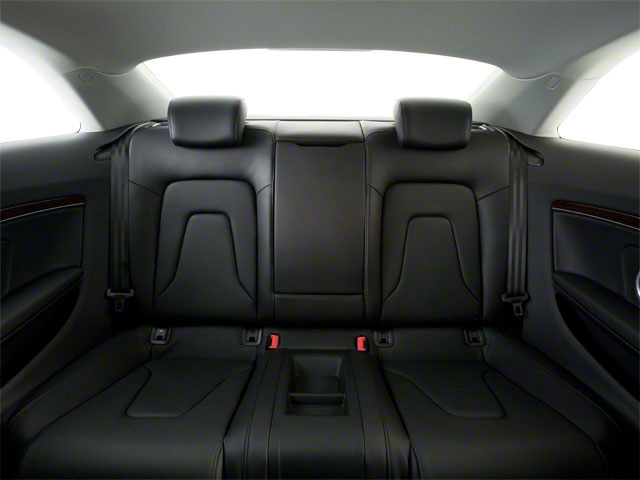 2012 Audi A5 Prices and Values Coupe 2D Quattro backseat interior