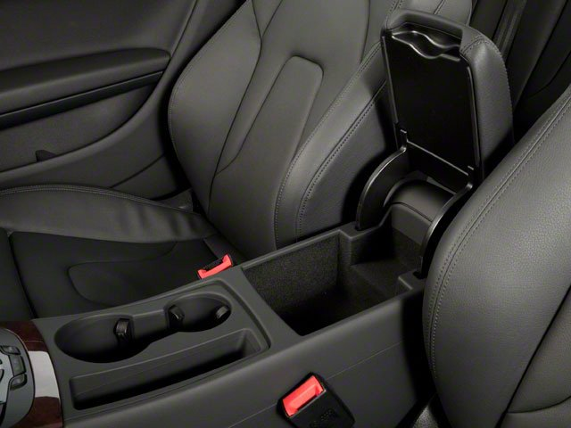 2012 Audi A5 Prices and Values Coupe 2D Quattro center storage console