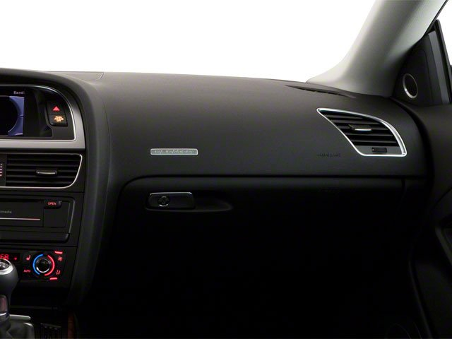 2012 Audi A5 Prices and Values Coupe 2D Quattro passenger's dashboard