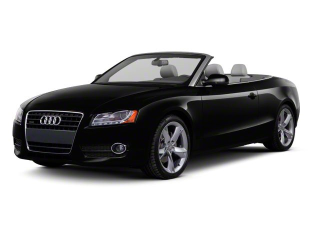 2012 Audi A5 Prices and Values Convertible 2D S-Line Quattro side front view