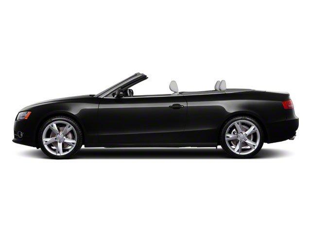 2012 Audi A5 Prices and Values Convertible 2D S-Line Quattro side view