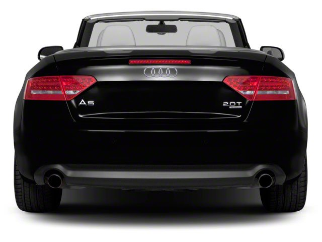 2012 Audi A5 Prices and Values Convertible 2D S-Line Quattro rear view