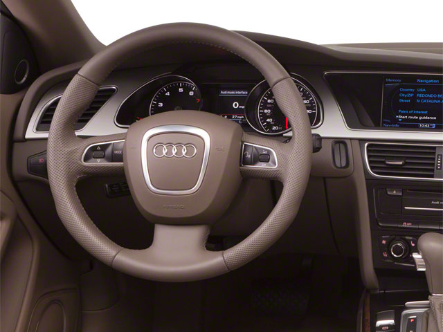 2012 Audi A5 Prices and Values Convertible 2D S-Line Quattro driver's dashboard
