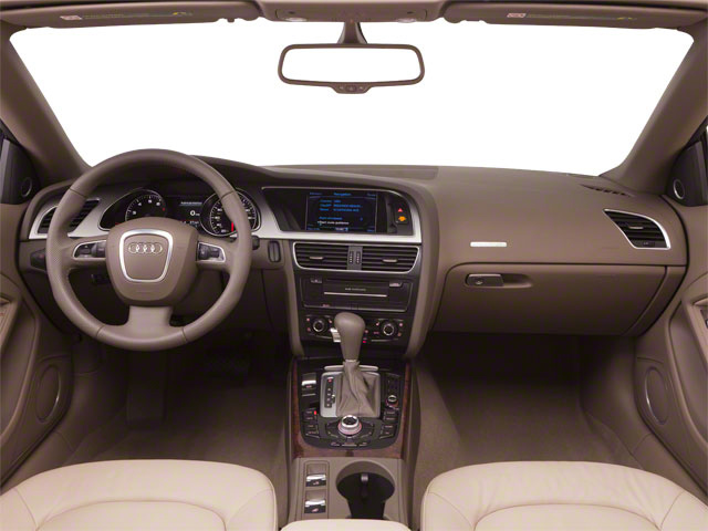 2012 Audi A5 Prices and Values Convertible 2D S-Line Quattro full dashboard