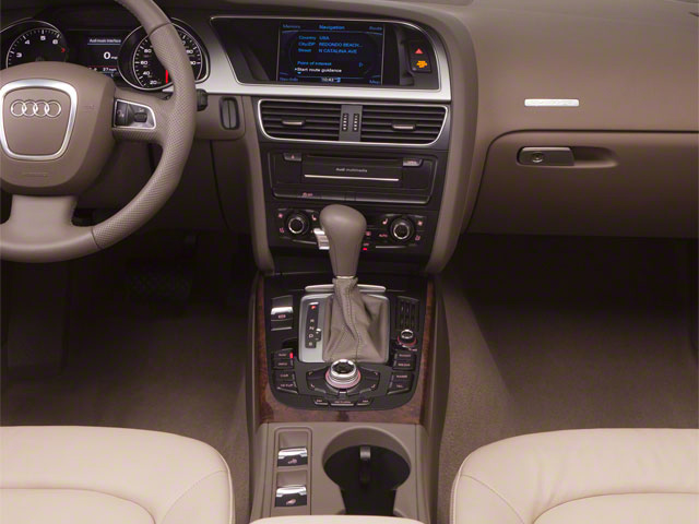 2012 Audi A5 Prices and Values Convertible 2D S-Line Quattro center console