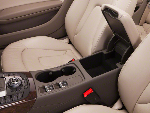 2012 Audi A5 Prices and Values Convertible 2D S-Line Quattro center storage console