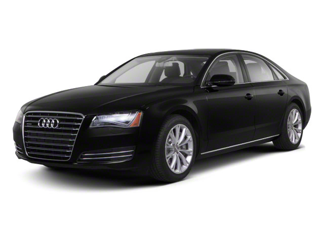2012 Audi A8 Prices and Values Sedan 4D 4.2 Quattro side front view