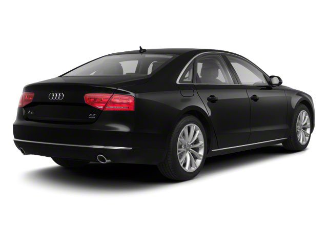 2012 Audi A8 Prices and Values Sedan 4D 4.2 Quattro side rear view