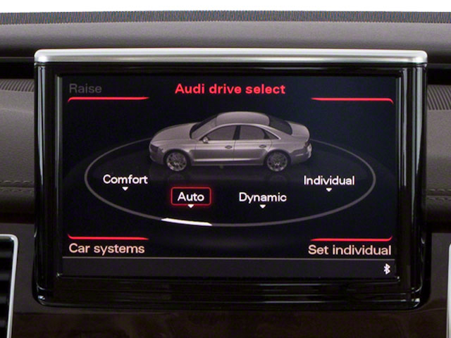 2012 Audi A8 L Pictures A8 L Sedan 4D 4.2 Quattro L photos navigation system