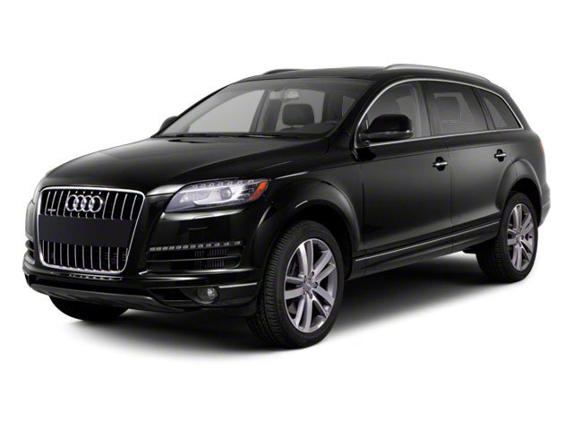2012 Audi Q7 Prices and Values Utility 4D 3.0 TDI Prestige AWD side front view