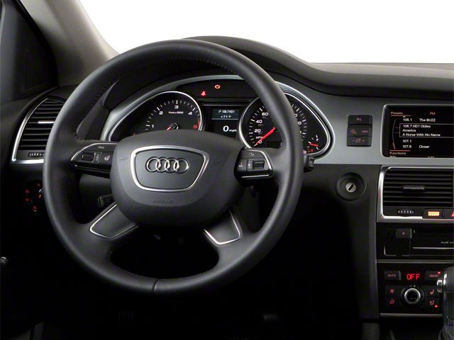 2012 Audi Q7 Prices and Values Utility 4D 3.0 TDI Premium AWD driver's dashboard
