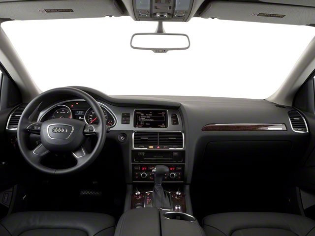 2012 Audi Q7 Prices and Values Utility 4D 3.0 TDI Prestige AWD full dashboard