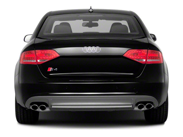 2012 Audi S4 Prices and Values Sedan 4D Quattro rear view
