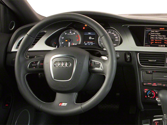 2012 Audi S4 Prices and Values Sedan 4D Quattro driver's dashboard