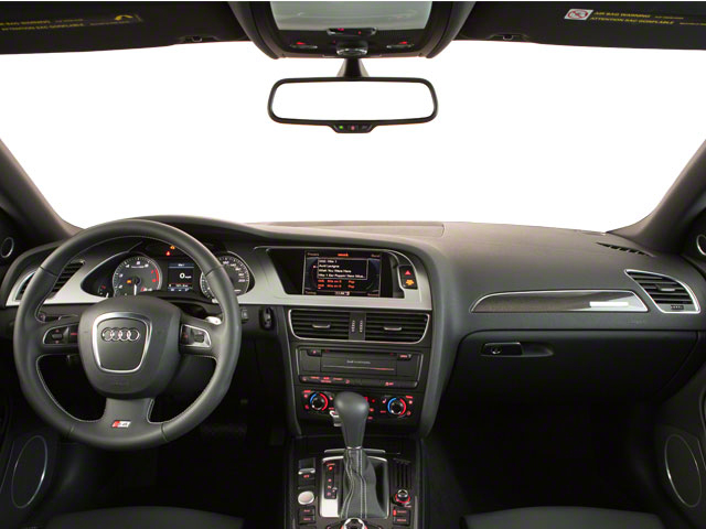 2012 Audi S4 Prices and Values Sedan 4D Quattro full dashboard