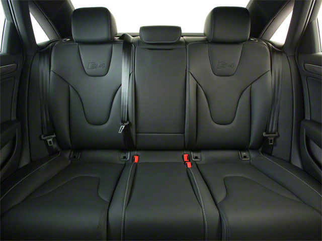 2012 Audi S4 Prices and Values Sedan 4D Quattro backseat interior