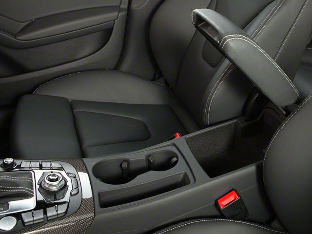 2012 Audi S4 Prices and Values Sedan 4D Quattro center storage console