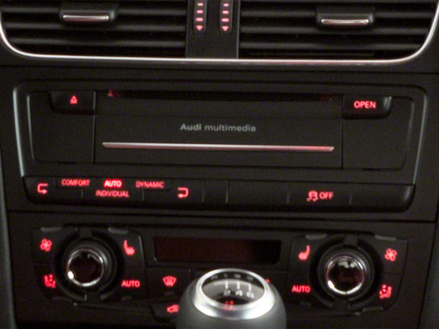 2012 Audi S5 Prices and Values Coupe 2D Quattro stereo system