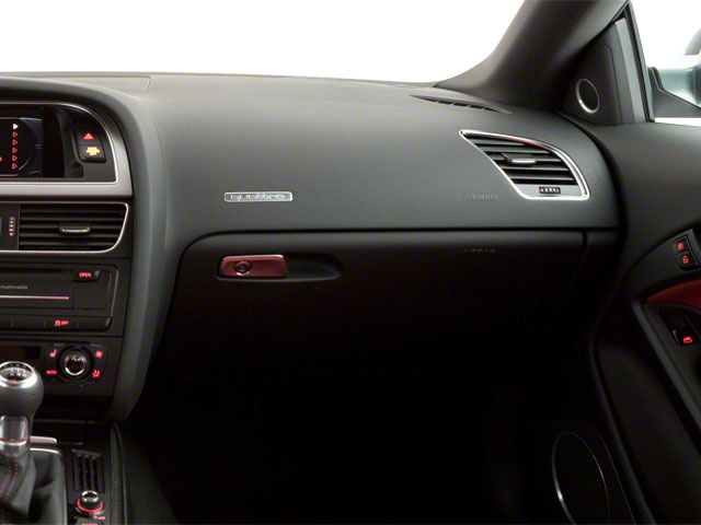 2012 Audi S5 Prices and Values Coupe 2D Quattro passenger's dashboard