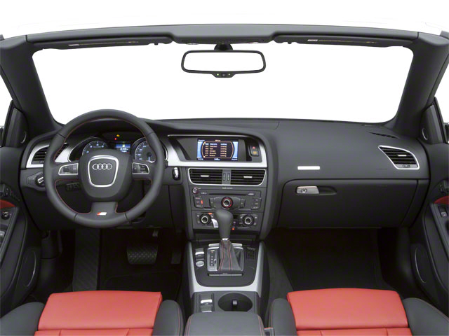 2012 Audi S5 Prices and Values Convertible 2D Quattro full dashboard