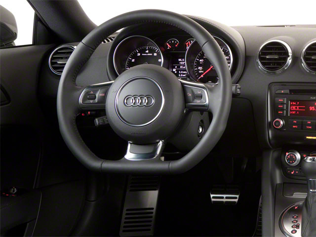 2012 Audi TTS Prices and Values Coupe 2D Quattro Prestige driver's dashboard
