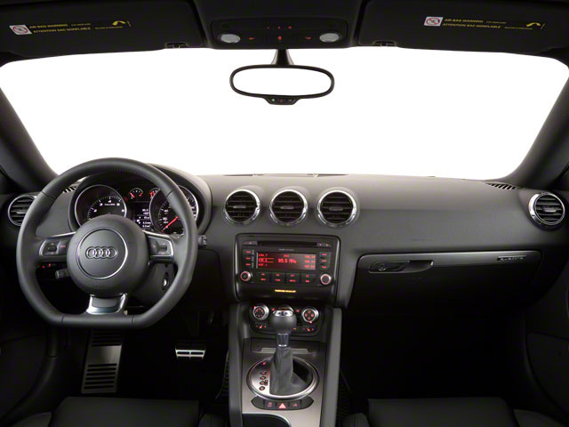 2012 Audi TTS Prices and Values Coupe 2D Quattro Prestige full dashboard