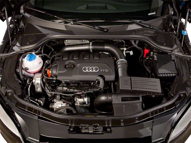 2012 Audi TTS Prices and Values Coupe 2D Quattro Prestige engine