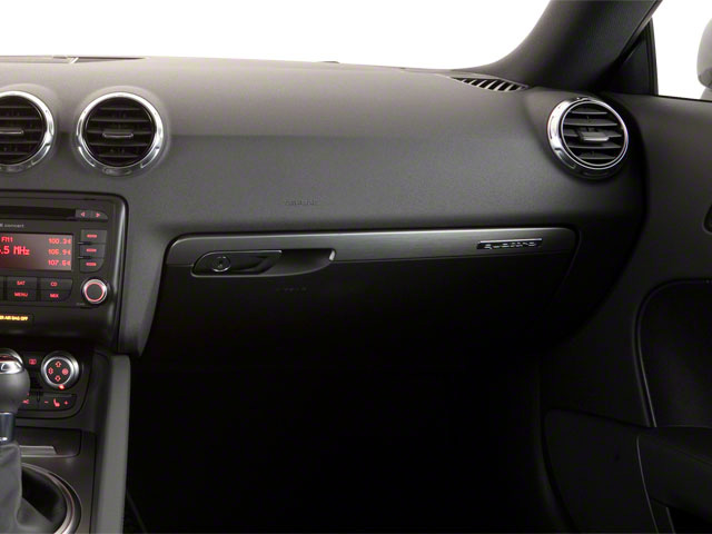 2012 Audi TTS Prices and Values Coupe 2D Quattro Prestige passenger's dashboard