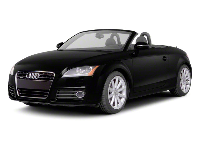 2012 Audi TTS Prices and Values Roadster 2D Quattro Prestige side front view