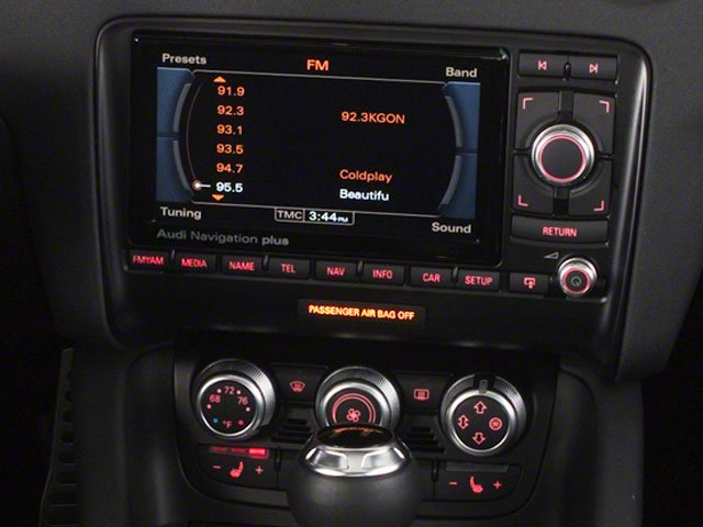 2012 Audi TTS Prices and Values Roadster 2D Quattro Prestige stereo system