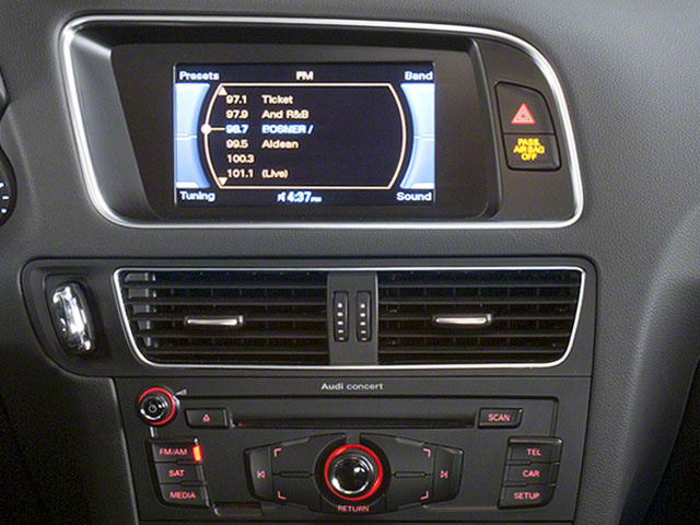 2012 Audi Q5 Prices and Values Utility 4D 2.0T Premium AWD stereo system